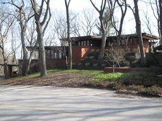 Andrew F.H. Armstrong residence. 1939. Ogden Dunes, Indiana. Usonian Style. Frank Lloyd Wright
