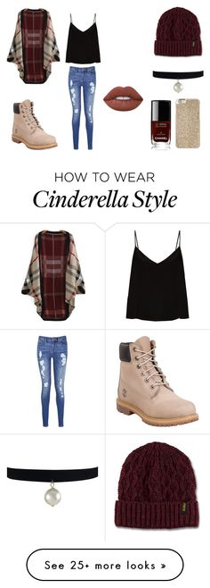 """""""Untitled #119"""" by blh2701 on Polyvore featuring Raey, Tommy Hilfiger, Dr. Martens, Timberland, Lime Crime, Michael Kors and Chanel"""
