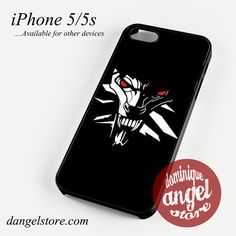 The witcher logo Phone case for iPhone 4/4s/5/5c/5s/6/6 plus