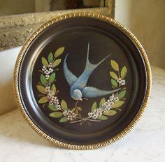 blue bird swallow tray