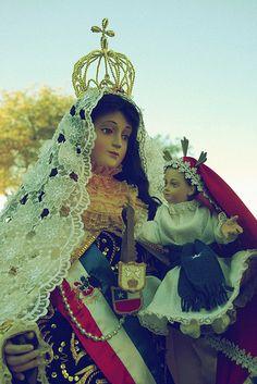 Virgen Del Carmen en la Fiesta de La Tirana. Iquique.