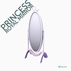 Mirror mirror on the wall - who's the fairest one of all?  #princess #furniture #royal #mirror #interiordesign #decor #3d #game #videogame #gamedev #betherealyou