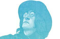 John Lennon by Ian Carrington, via Behance