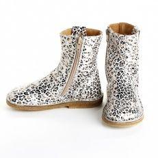 Pepe Leopard Print Short Boots van PePe kinderkleding