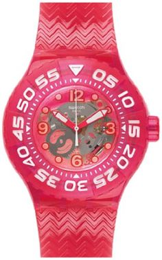 Swatch Deep Berry Ladies Watch  SUUP100 * Find out more about the great product at the image link. (This is an Amazon Affiliate link and I receive a commission for the sales)