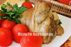 Рецепт свиной рульки в мультиварке Редмонд