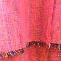 100% Alpaca Travel Blanket in Pink