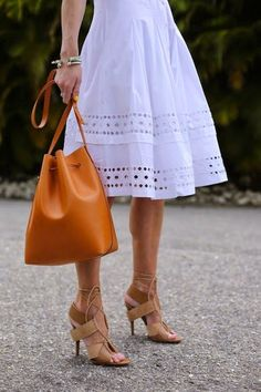 Outfit Inspiration: Bright White