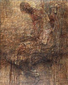 DmochowskiGallery.net - galeria - Sala 13. Obrazy. Lata 1995-2005 - QB
