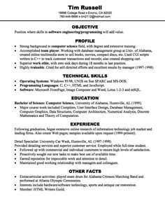 Software Engineer Resume Example Technical Resume Writing Resumes Cover  Letters Jobs Com  Mechanical Engineer Resume Objective