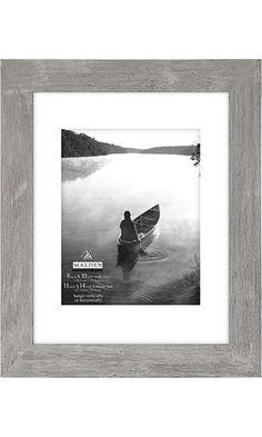 Malden International Designs 11 by 14-Inch Matted Picture Frame Which Holds 8 by 10-Inch Photo, Manhattan Grey Best Price