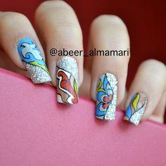 Instagram photo by abeer_almamari #nail #nails #nailart
