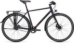 De Cube Travel SL is het topmodel uit Travel serie. Deze lichte trekking hybride fiets is een goede keus als je je fiets overal voor gebruikt. Woon-werk verkeer, fietstochtje door de polder en fietsvakantie met bepakking. Als je echt alles op de