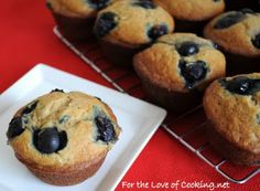 Blueberry and Banana Muffins AND a Giveaway