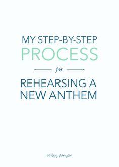 My step-by-step proc