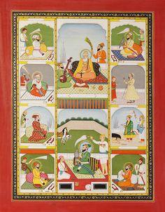All Ten Personal Gurus of Sikhs