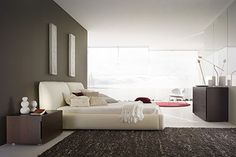 clean cut furniture, simplicity of colour, play on texture