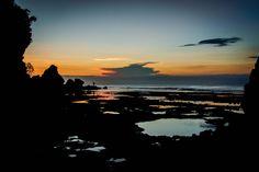 Sunset - Padang Padang Beach, Bali, Indonesia