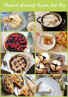 8 delicious pie recipes -- YUM! #pie #dessert