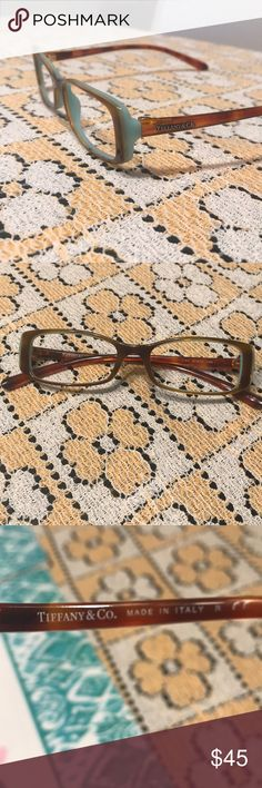 Tiffany & Co glasses frames Authentic, excellent condition, temple length is 140 mm. These do not come with lenses, you would have to get lenses made for them. No case. Tiffany & Co. Accessories Glasses
