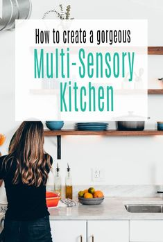 How to create, design and decorate your kitchen so it is an amazing, multi-sensory experience and the pride and joy of your home decor scheme.  A triumph of interior design through careful kitchen planning and accessorizing.  The perfect kitchen makeover #kitchendesign #kitchen  #kitchendecor #kitchenmakeover