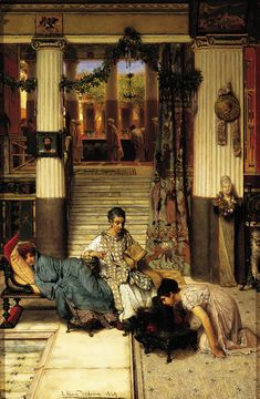 The Convalescent , 1869 oil on panel, 27 ¾ x 18 ¼ in.; 70.49 x 46.36 cm Gift of Francis T. B. Martin, 1991.3 Joslyn Art Museum, Omaha, Nebraska