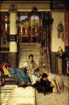 The Convalescent , 1869 oil on panel, 27 ¾ x 18 ¼ in.; 70.49 x 46.36 cm Gift of Francis T. B. Martin, 1991.3 Joslyn Art Museum, Omaha, Nebraska