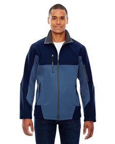 Shop for Compass Colorblock Three-Layer Fleece Bonded Soft Shell Men's Big and Tall Blue Ridge 411 Jacket. Get free delivery On EVERYTHING* Overstock - Your Online Men's Clothing Shop! Down Ski Jacket, Mens Outdoor Clothing, City North, Men's Coats And Jackets, Fleece Jackets, Latest T Shirt, Outdoor Outfit, Blue Ridge, Color Blocking