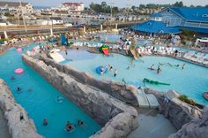 A place to look hot when it's hot and cool off too! Fun for all ages! #ChesapeakeBeachMD