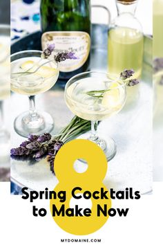 The best cocktails to make in the Spring