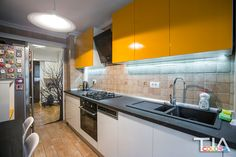 yellow kitchen Kitchen Cabinets, Yellow, Design, Home Decor, Decoration Home, Room Decor, Cabinets, Home Interior Design