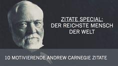 Andrew Carnegie war ein US-amerikanischer Industrieller und Stahlmagnat. Geboren als Sohn eines Webers, wurde er zum reichsten Menschen seiner Zeit. Während er die erste Hälfte seines Lebens damit verbrachte, sein Vermögen zu erwirtschaften, nutzte er die zweite Hälfte dazu es wegzugeben. Er spendete insgesamt 350 Millionen Dollar, was heute etwa 4,7 Milliarden entsprechen würde. Carnegiecontinue reading