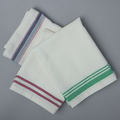 ACS Home & Work Striped Mission Kitchen Towel