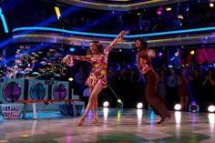Watch Jana Kramer's '70s-Inspired 'Dancing With the Stars' Samba