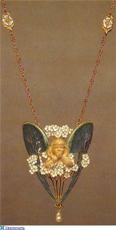 Art Nouveau jewellery. Lucien Gaillard - La belle epoque— я.ру