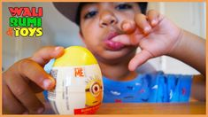 Minion Surprise Egg opening with minion badge and candy My Minion, Minions, Minion Surprise, Surprise Egg Videos, Minion Stickers, Play Doh, Kids Toys, Badge, Eggs