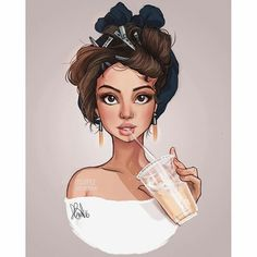 Fan art of Selena Gomez by itslopez