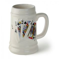 Poker Beer Mug of 500 ml capacity is now available for online shopping in India only at http://www.catchin24.in/poker-beer-mug-500-ml.html