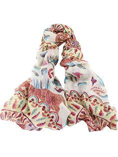 Apricot Vintage Floral Scarves — 0.00 € -------------------------color: None size: None