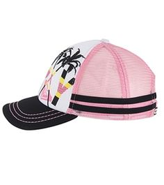 Roxy Girls' Splashin Trucker Hat (Kid)