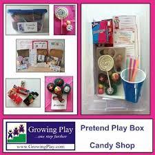 Resultado de imagen para preschool dramatic play candy store