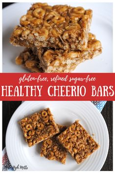 Recipes Snacks Bars Searching for a snack to make for you and your kids that will start your week off right? Check out these Healthy Cheerio Bars, peanut butter-y and full of healthy additions. Peanut Butter Cheerio Bars, Peanut Butter Recipes, Organic Peanut Butter, Organic Snacks, Organic Recipes, Clean Recipes, Recipe Using Cheerios, Recipes With Cheerios, Cherios Recipes