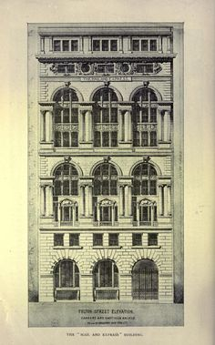 Carrère & Hastings's Mail and Express Building, New York City