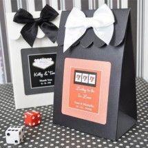 Sweet Shoppe Candy Boxes - Vegas Theme (Set of 12)