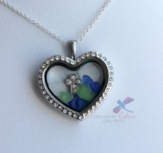 Items similar to Sea Glass and Cross Heart Shaped Locket Pendant/chain on Etsy Handmade Jewelry, Unique Jewelry, Handmade Gifts, Cross Heart, Sterling Silver Chains, Sea Glass, Heart Shapes, Jewelry Accessories, Pendant Necklace