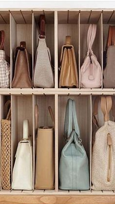 Easy and creative ways to make the most of that reduced space and turn it into a comfy place without feeling cramped. Girls Closet Organization, Wardrobe Organisation, Closet Storage, Diy Organization, Wardrobe Storage, Organizing, Wardrobe Design Bedroom, Closet Bedroom, Closet Space