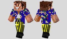 Ace Ventura Skin para Minecraft