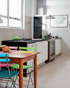 Apartamento muda completamente sem reforma, com pouca intervenção - Casa