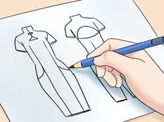 En el mundo de la moda, nuevos diseños se presentan en la forma de bocetos a mano antes de cortar y coser la tela. Primero dibuja un croquis, la figura en forma de modelo que servirá como base para el boceto. El punto aquí no es dibujar un...