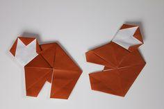 動物折り紙 おさる